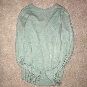 Loft mint green sweater